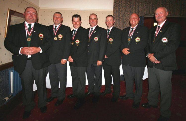 The winning Welsh team