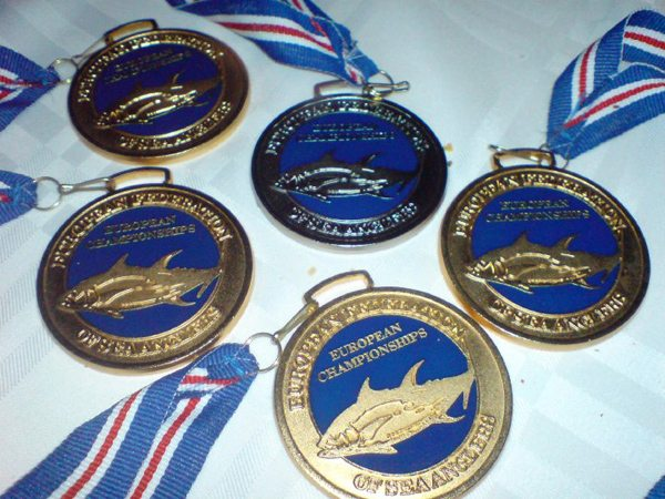 medals at European Championships Dalvik