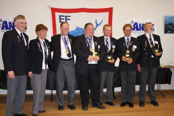 prize winners at European Championships Dalvik