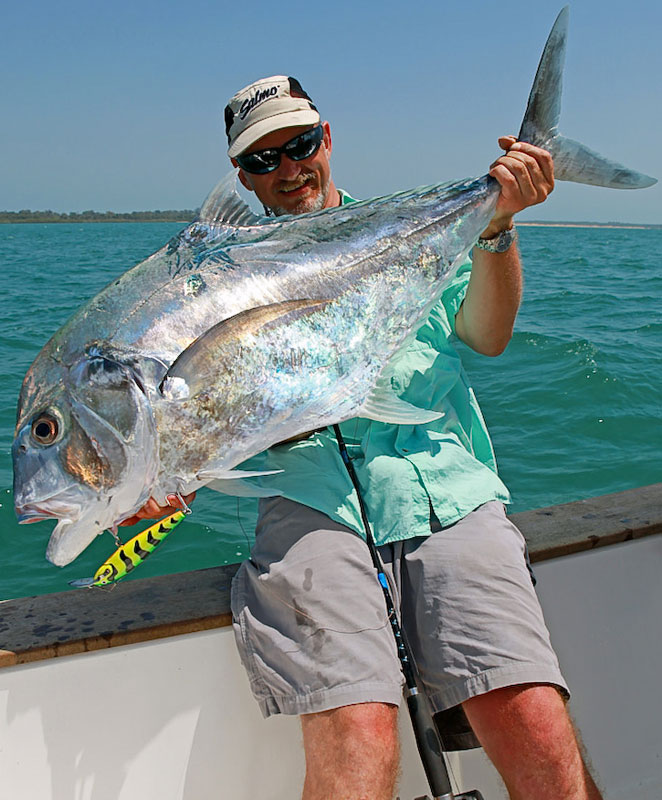 a fish from Guinea-Bissau on popper