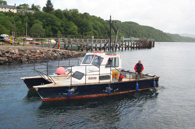 Davy Holt's boat Catchalot