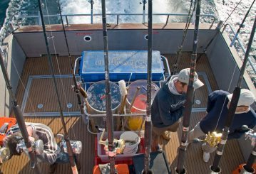 anglers aboard Shogun out of Lymington