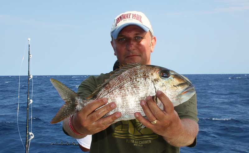 Steve with a Puerto Aventuras fish