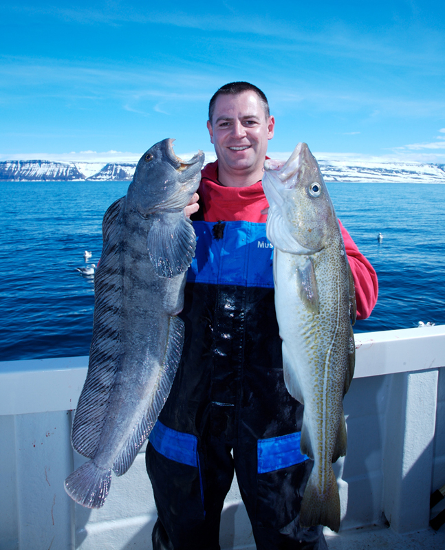 a cod and catfish double