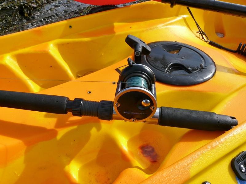 a short butt rod for kayak fishing