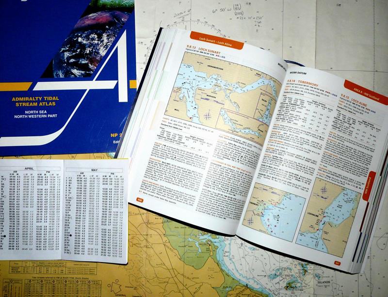 admirality charts and tidal atlas