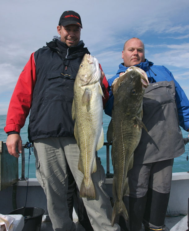 two big cod from Norway