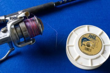 Perfect Spooling a reel braid wound on