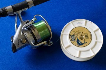 Perfect Spooling a reel backing added