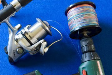 Perfect Spooling a reel all line removed