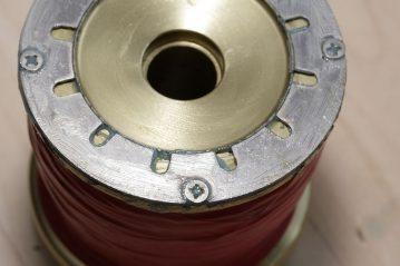 Corrosion Block on reel spool