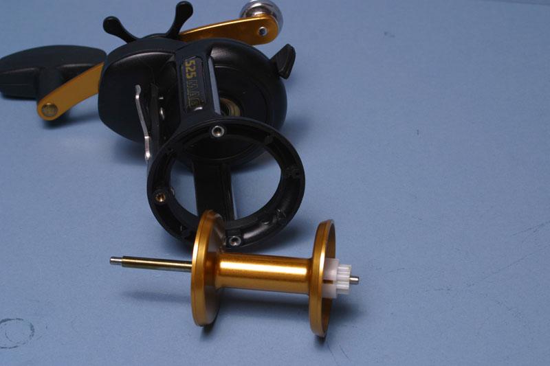 Step - 3 - Penn 525 Super Mag reel tuning guide
