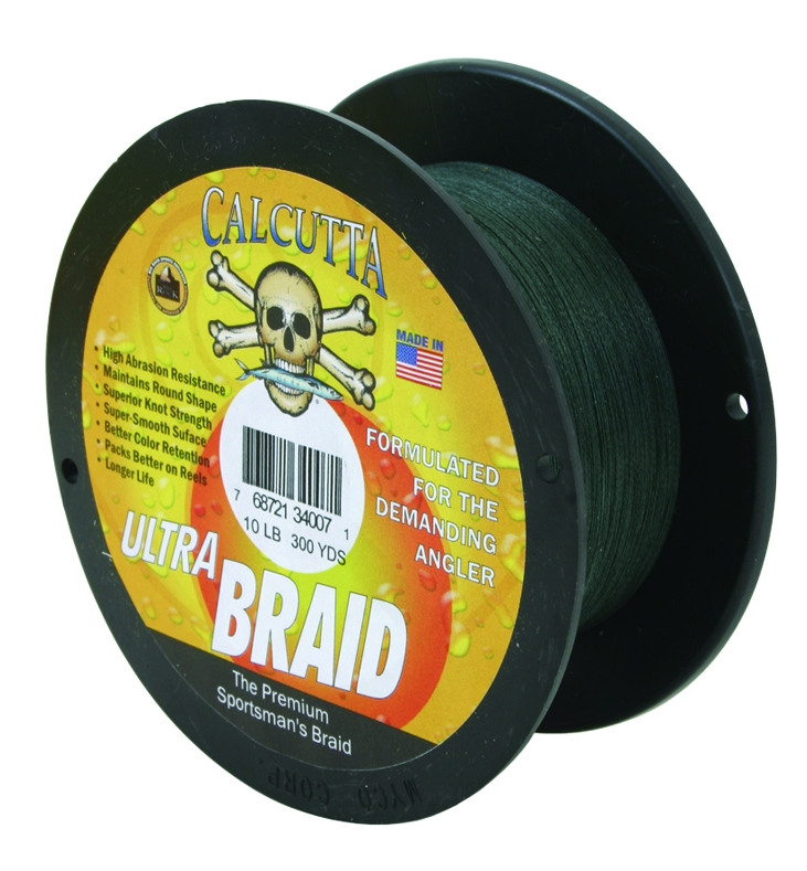 Calcutta Ultra Braid spool