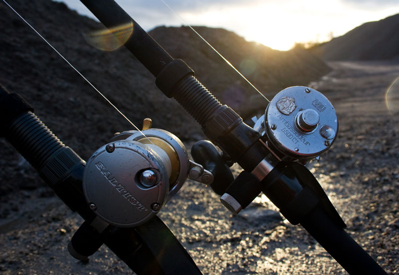 reels on the Century Carbon Metal Express