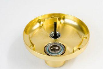 Daiwa Luna 300L multiplier reel inside the side plate