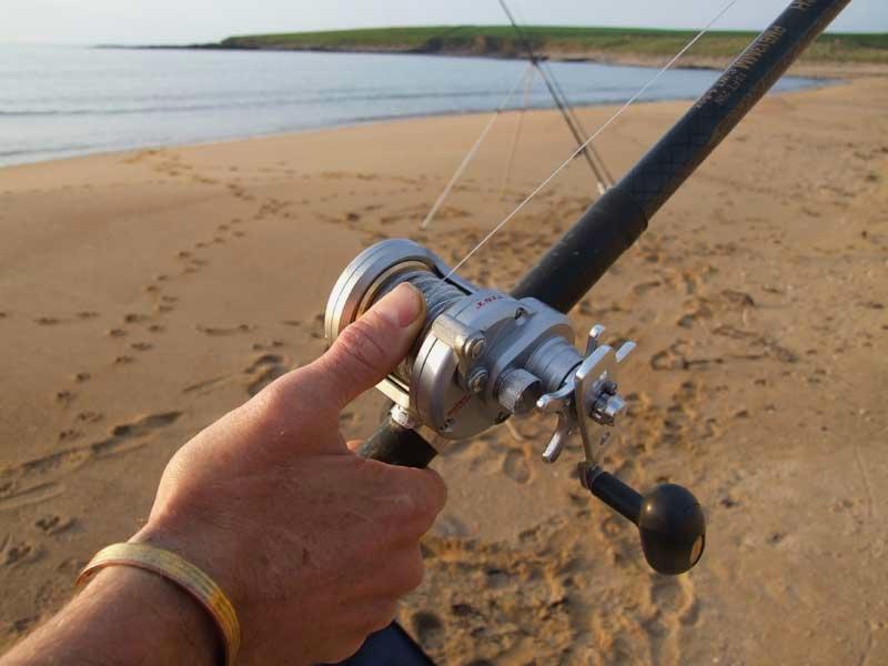 an anglers thumb on the diawa saltist 20H