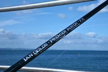Ian Golds shore rods premier match fixed spool