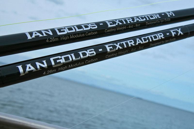 Ian Golds shore rods extractor