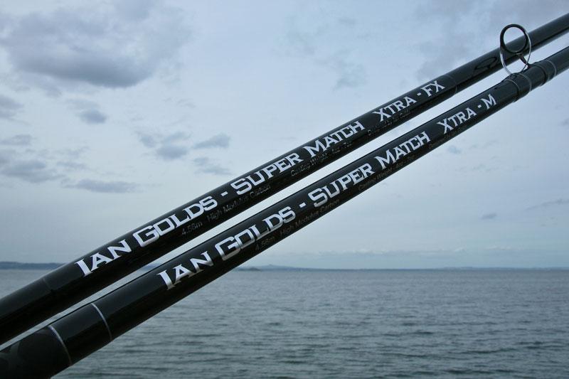 Ian Golds shore rods super match