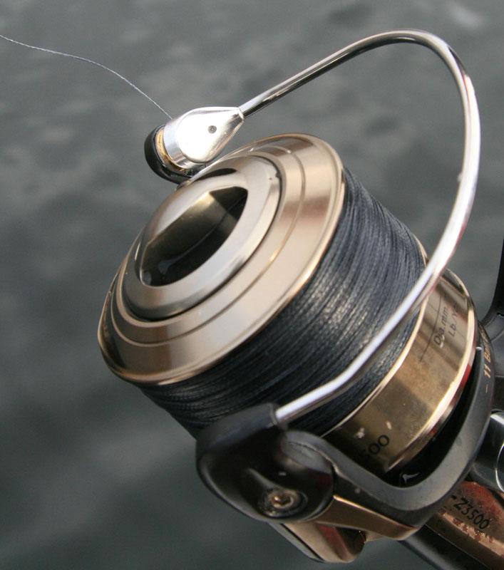 Grauvell Delphos BR-Z3500 fixed spool reel bail arm