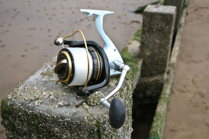 Grauvell Zenith Z5000 fixed spool reel left side view