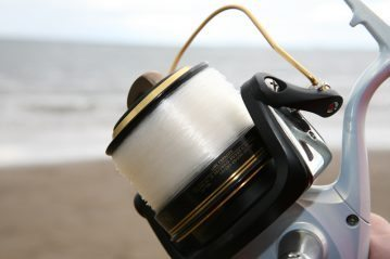 Grauvell Zenith Z5000 fixed spool reel bail arm open