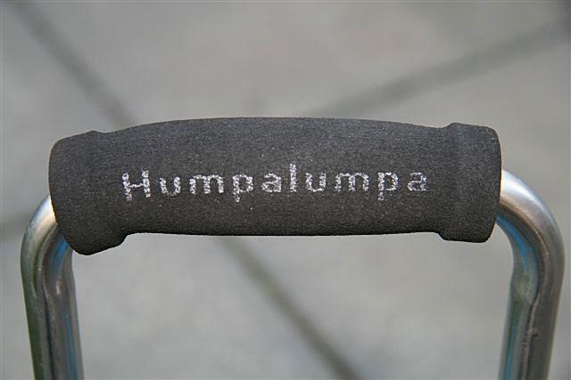 Humpalumpa Big Fishing Trolley grip