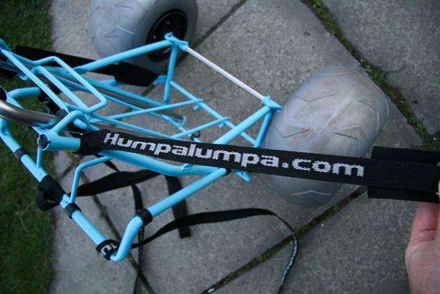 Humpalumpa Big Fishing Trolley strap