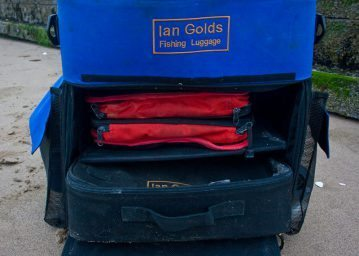 the Ian Golds Large Backpack front section