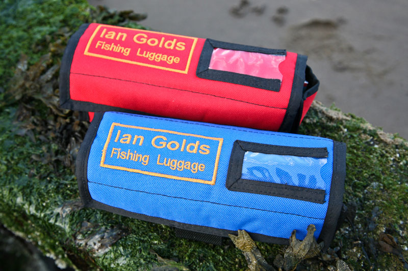 Ian Golds Rig & Spool Case red and blue closed