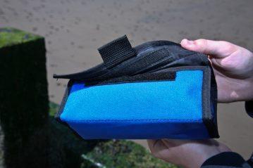 blue Ian Golds Rig & Spool Case velcro