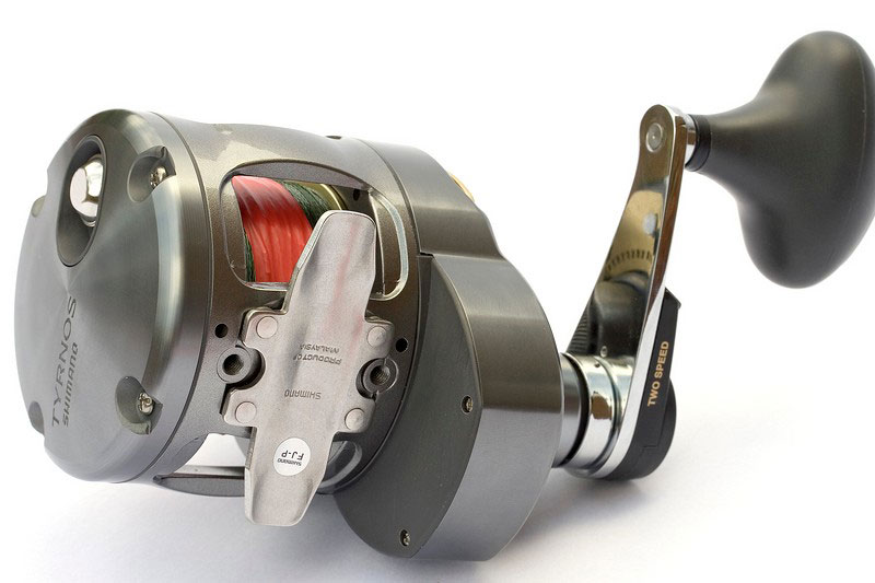 Shimano Tyrnos 12 2-speed reel seat