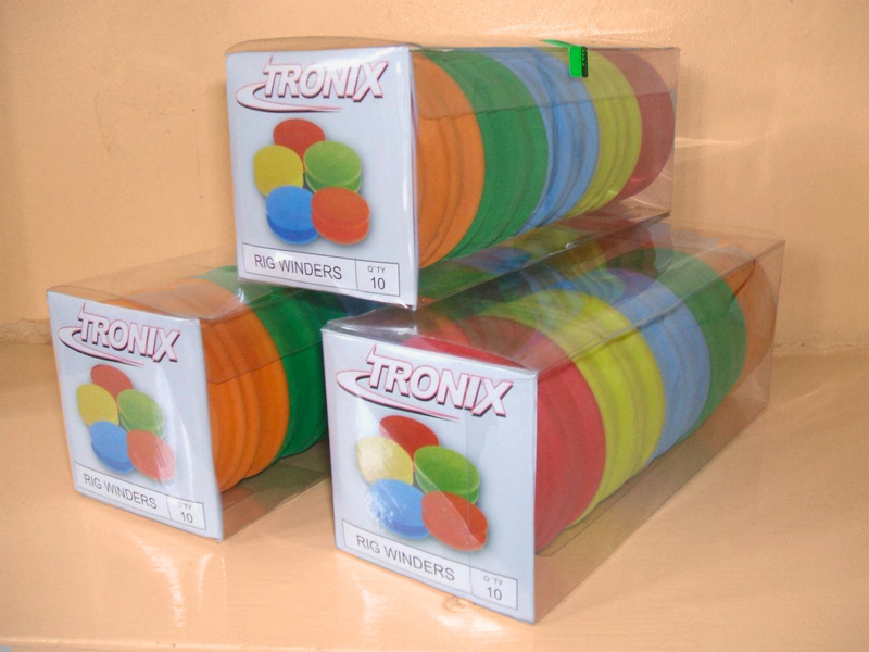 packaged Tronix foam rig winders
