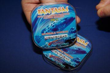 two spools of Tubertini Fantasm fluorocarbon