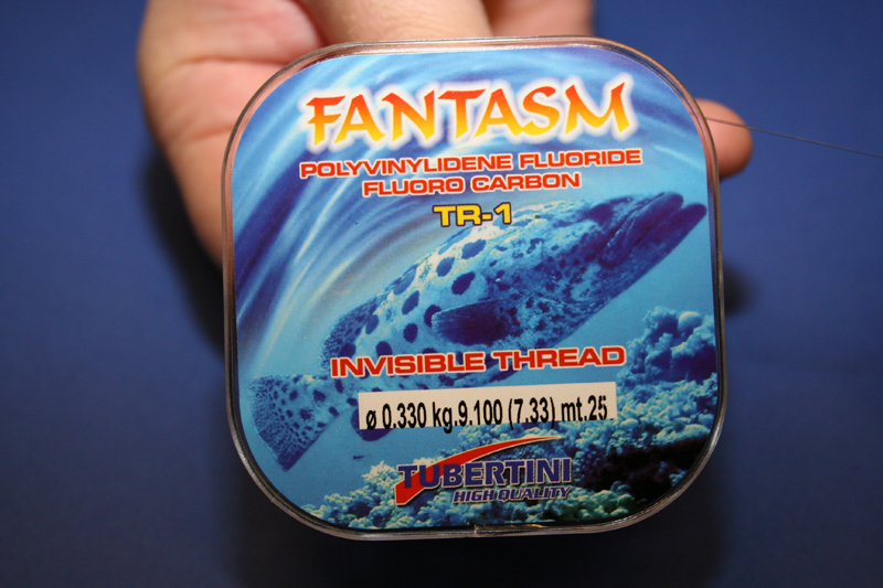 9.1 kg spool of Tubertini Fantasm fluorocarbon