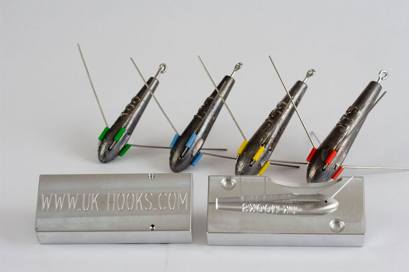 UK HOOKS moulds and leads hooker mould