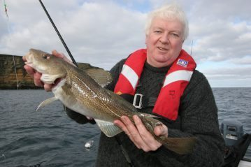 an inshore codling for David Proudfoot