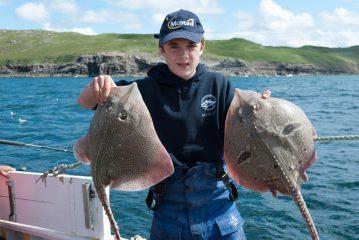 two Western Isles thornbacks