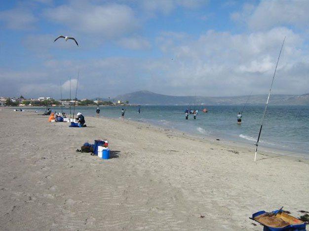 the beach at the world championships Langebaan