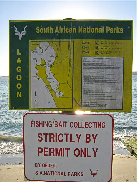 world championships at Langebaan lagoon sign