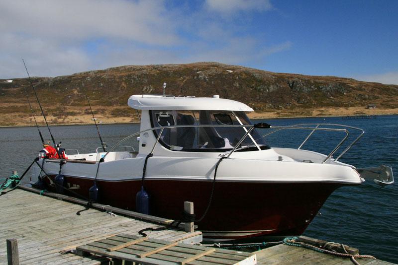 a Arvor self-drive boat