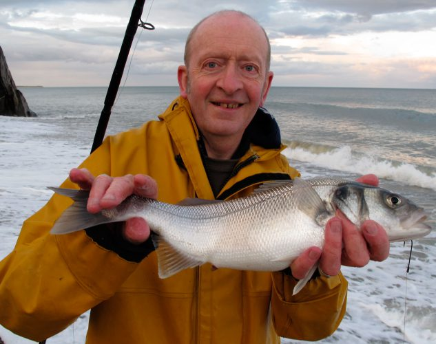 Irish Marine Scientist Dr. Ed Fahy who has contributed greatly to Irish and European bass fishery knowledge.