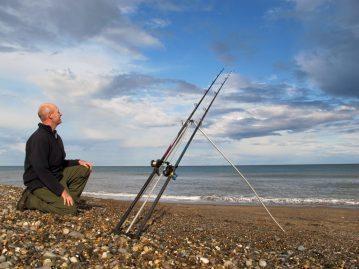 Sea Fishing in Wicklow beach