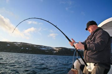 Sea Angling for Beginners - Rod Types boat