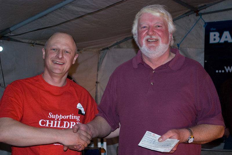 Baitbox Humber Cod Open 2012 winner cheque
