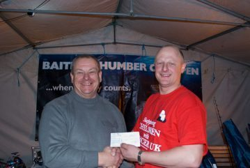 Baitbox Humber Cod Open 2012 third cheque
