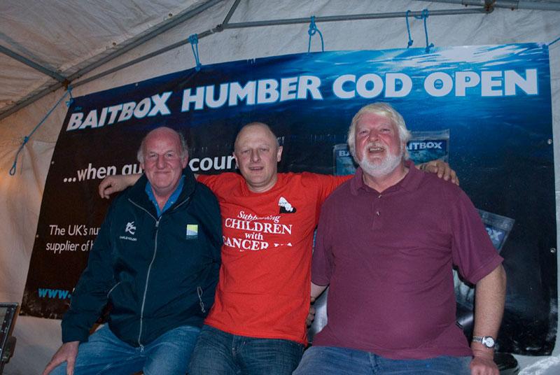 Baitbox Humber Cod Open 2012 prizerwinners