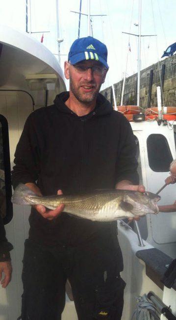 A cod Caught on E.V. Grace.