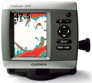 small boat electronics fish finder