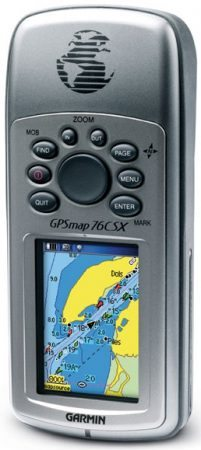 small boat electronics handheld gps